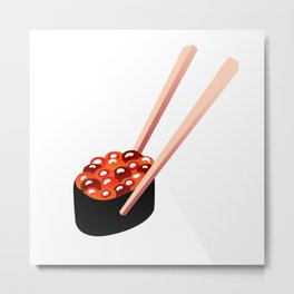 Juicy Sushi ~ Raw Catz Metal Print