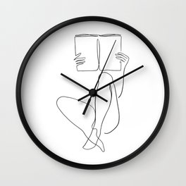 Reading Naked n.2 Wall Clock