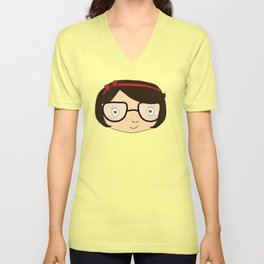 twins in happiness Unisex V-Neck
