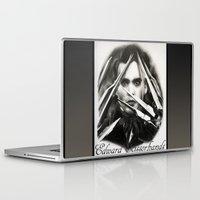 edward scissorhands Laptop & iPad Skins featuring Edward Scissorhands by Whitney Wilkinson