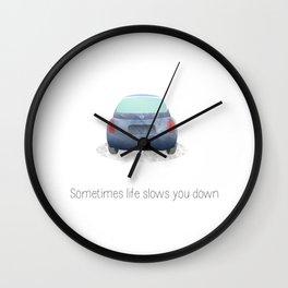 Road rage #1 Wall Clock