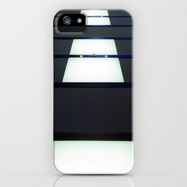 Walking on the ceiling. iPhone Case