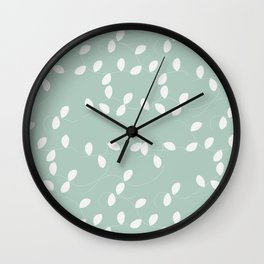 Something Viney Wall Clock