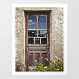 Open the Door  Art Print