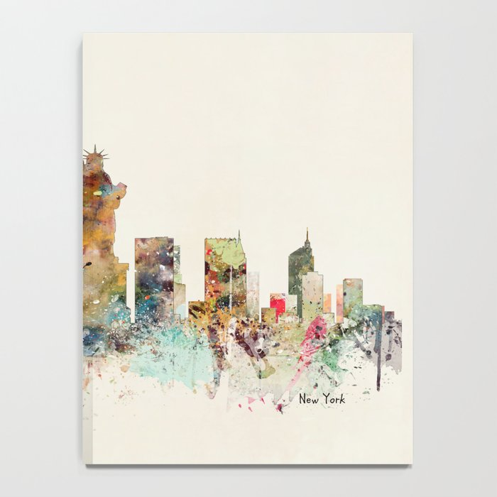 new york city skyline Notebook