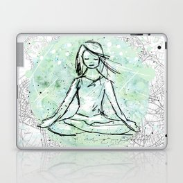 Yoga lace Laptop & iPad Skin