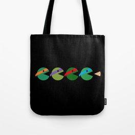 Pac-Turtles Tote Bag