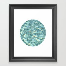 Abstract Pool Framed Art Print
