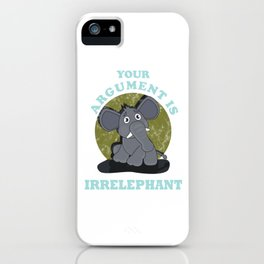 Irrelephant iPhone Case