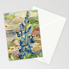 Texas Bluebonnet Collage Stationery Cards
