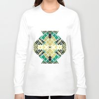 snake Long Sleeve T-shirts featuring Snake by SensualPatterns