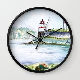 Stanley Park Vancouver Canada Wall Clock