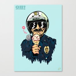 Oh Officer! Canvas Print
