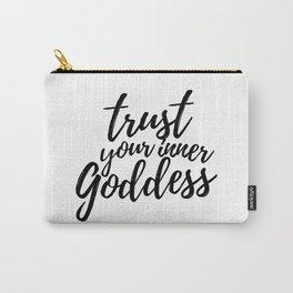 Trust Your Inner Goddess (Light) Carry-All Pouch