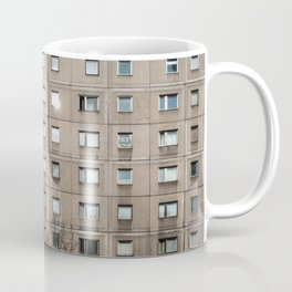 Plattenbau - gdr architecture building facade Coffee Mug