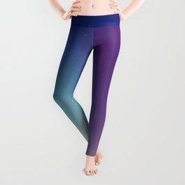 Aurora Synthwave #1 Leggings