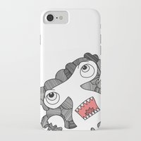 pie iPhone & iPod Cases featuring Pie! by DoodledPanda