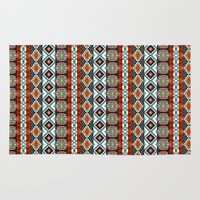 southwest Area & Throw Rugs featuring Southwest by Vannina