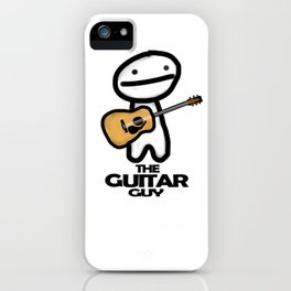 The Guitar Guy iPhone Case