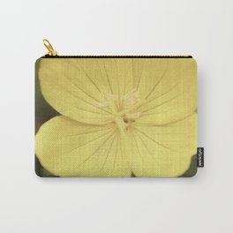 Vintage Yellow Flower Carry-All Pouch