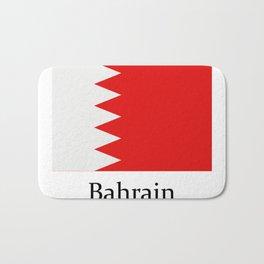 bahrain flag Bath Mat