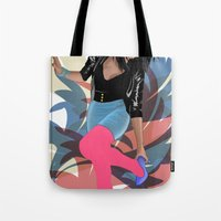 80s Tote Bags featuring 80s by Allen Holt