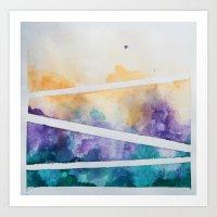 Clouded Judgement No. 1 Art Print
