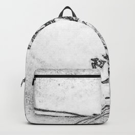 Be Brave. Backpack