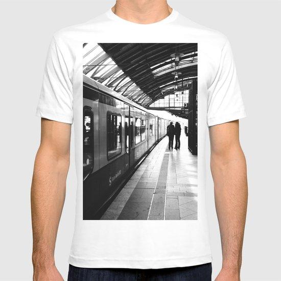 S-Bahn Berlin black and white photo T-shirt
