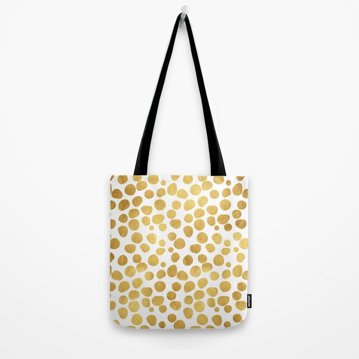 Gold Spots #society6 #decor #buyart Tote Bag