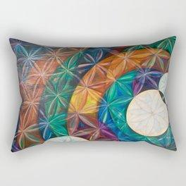 Tetrahedral Nodes Rectangular Pillow