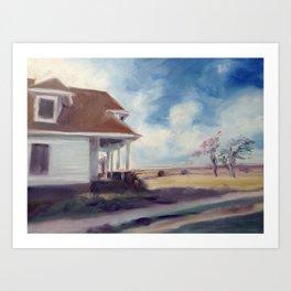 Brooks Farmhouse Art Print