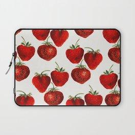 Strawberries Pattern Laptop Sleeve
