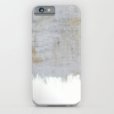 Painting on Raw Concrete iPhone 6 Slim Case