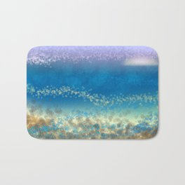 Abstract Seascape 03 wc Bath Mat