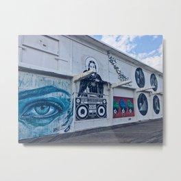 Boardwalk Art Metal Print