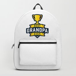 Best Grandpa Ever Backpack