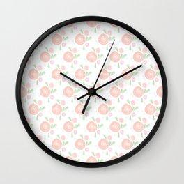 Roses and Berries Wall Clock