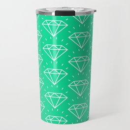 DIAMOND ((emerald)) Travel Mug
