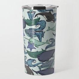 Very Whale! Travel Mug