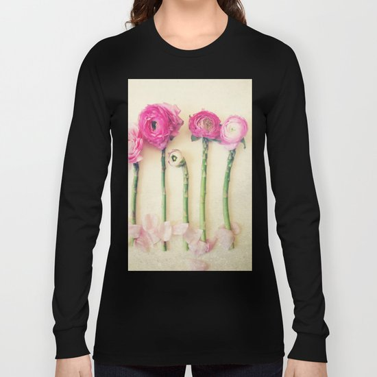 Hello Little Flowers Long Sleeve T-shirt