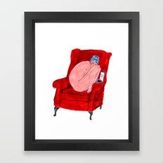 Naked Lady Framed Art Print
