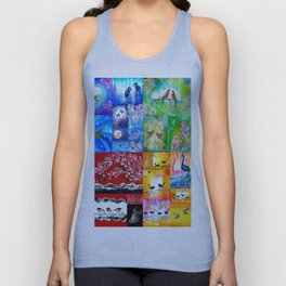 Rainbow Colors Unisex Tank Top
