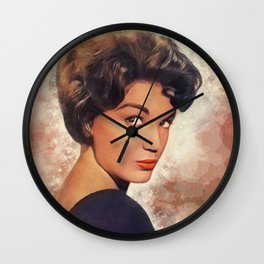 Connie Francis, Music Legend Wall Clock