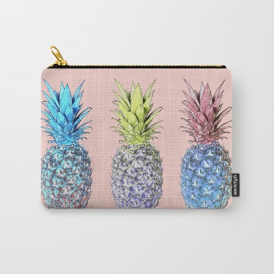Haha pineapples Carry-All Pouch