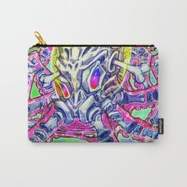 Skeleton Octopus Alien Carry-All Pouch