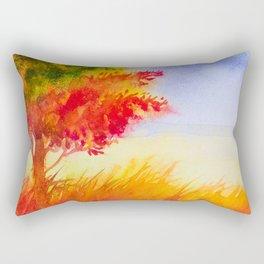 Autumn scenery #9 Rectangular Pillow