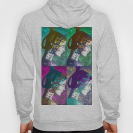 Twiggy Squared in Technicolor Hoody