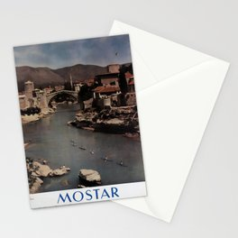 poster Mostar Stationery Cards