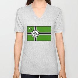 Kekistan Flag Unisex V-Neck